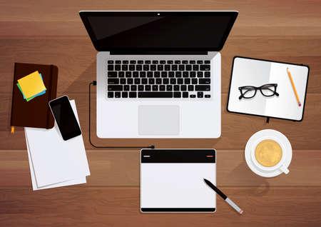 equipment: office equipment Illustration