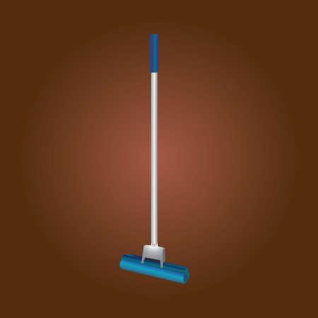 disinfecting: mop