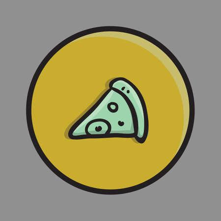 junkfood: pizza Illustration