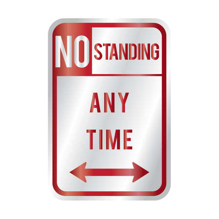 any: no standing any time sign