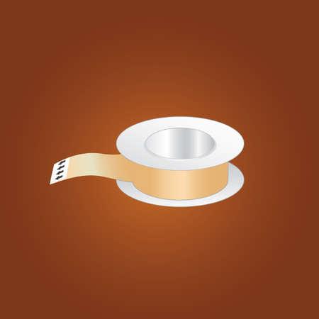 adhesive tape: adhesive tape Illustration