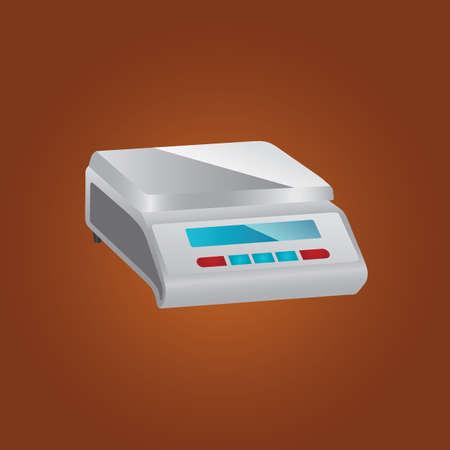 weight machine: weighing machine