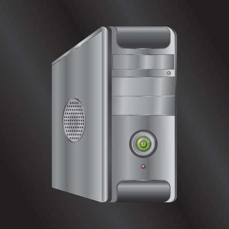 may�sculas: caja de la computadora