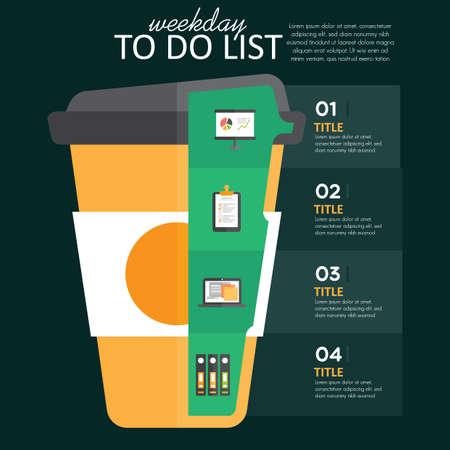 weekday: weekday infographic