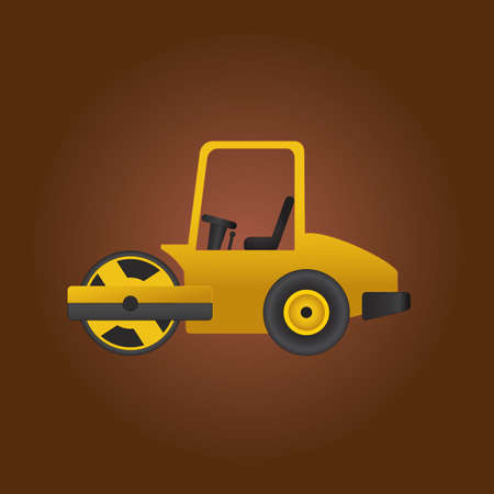 roller: road roller