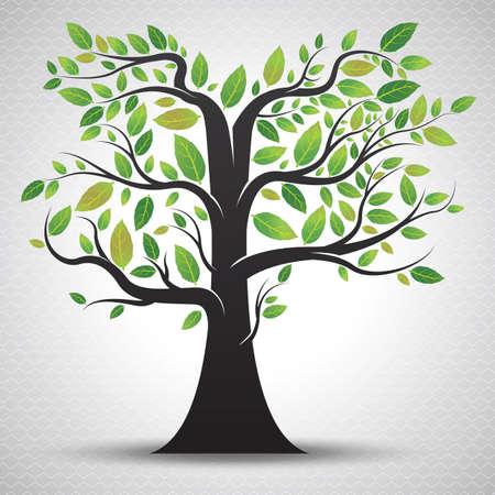 genealogical: a tree Illustration