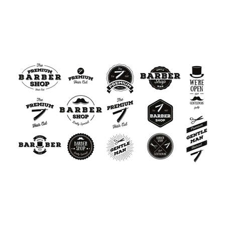 barber: set of barber labels