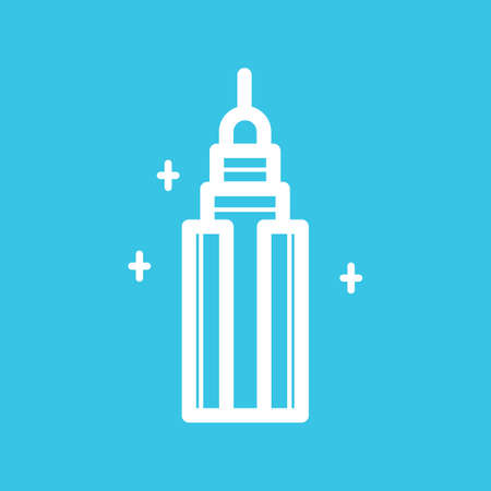 empire state: Empire state building Illustration