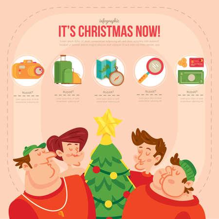 x mas parties: christmas infographic