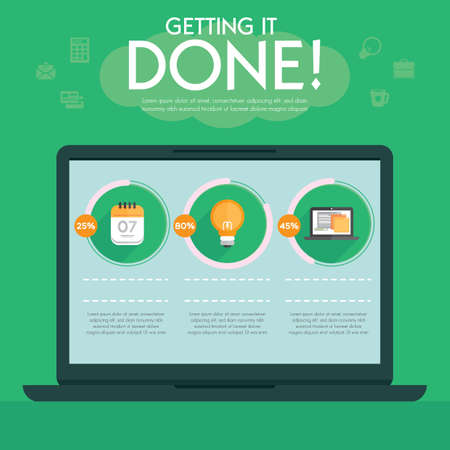 done: getting it done infographic
