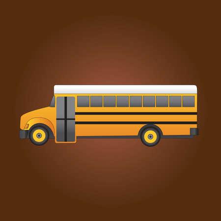school: school bus
