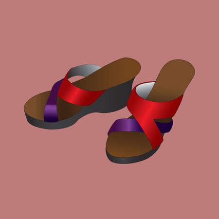 sandal: Sandalia de mujer