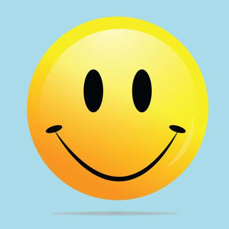 smiley: happy smiley face