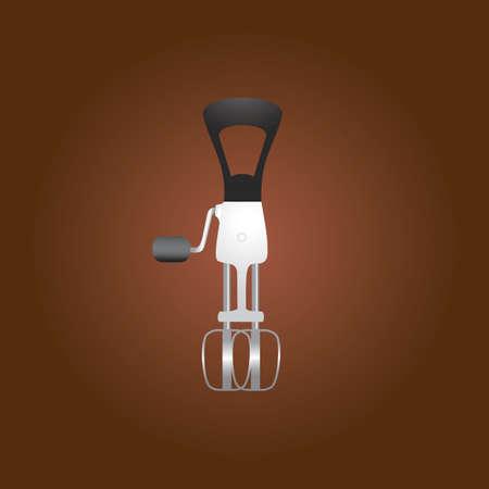 egg mixer Illustration