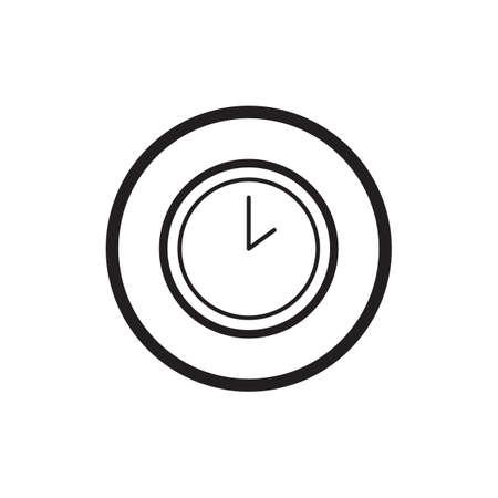 twenty four hour: wall clock icon