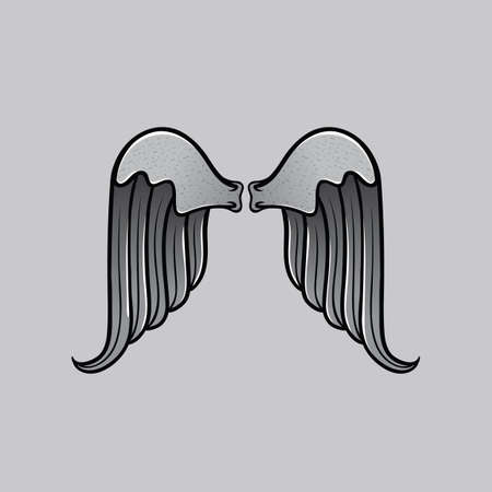 angel: angel wings Illustration