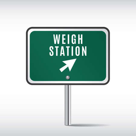 roadsigns: weigh station