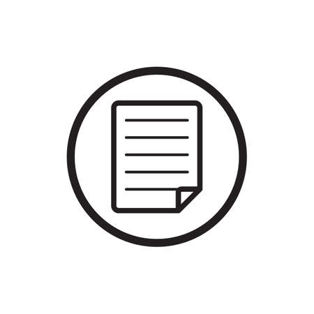 documentation: document sheet icon
