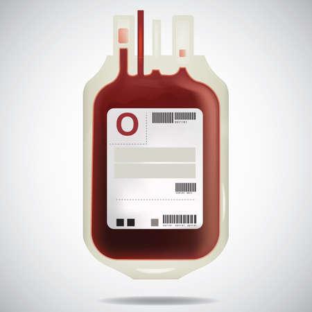 혈액 패킷 일러스트