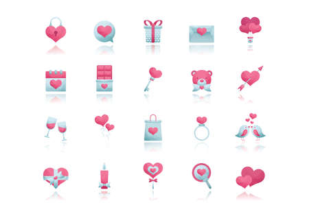 plushie: valentines collection Illustration