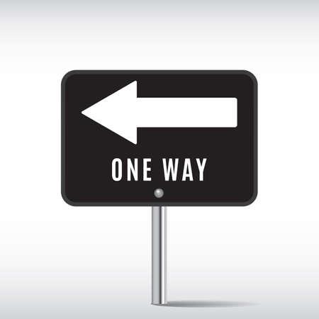 way: one way