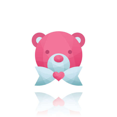 plushie: teddy bear with a heart