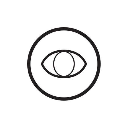 sense of sight: eye icon