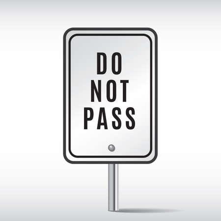 no pase: no pase Vectores