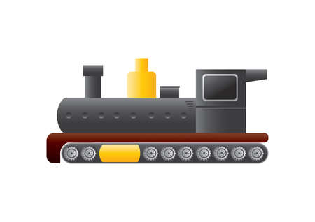 diesel train: locomotive