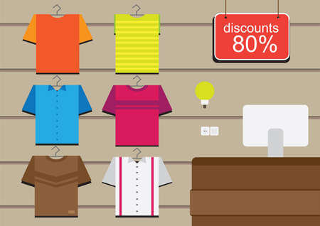 shirts on hangers: 80 discounts on tshirts
