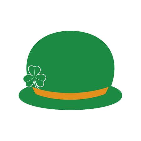derby hats: st patricks derby hat Illustration