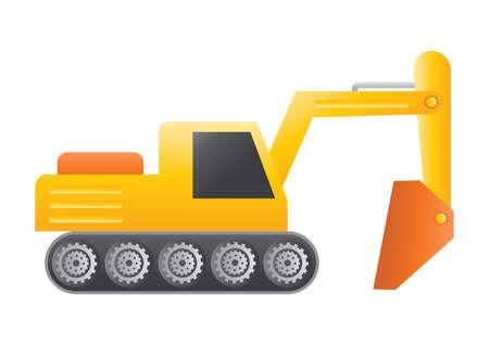 digger: excavator digger