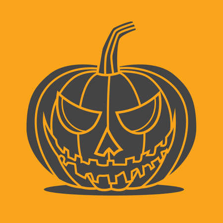 pumpkin head: pumpkin head Illustration
