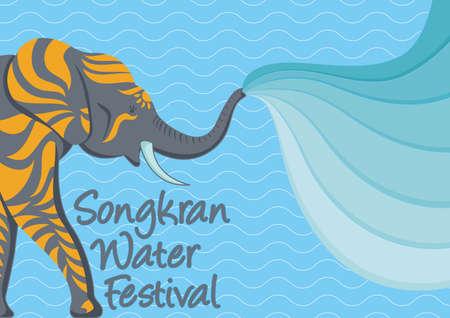 songkran: songkran water festival poster