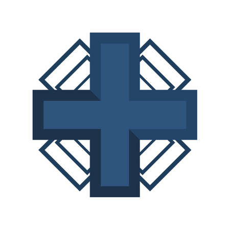 medical cross: medical cross