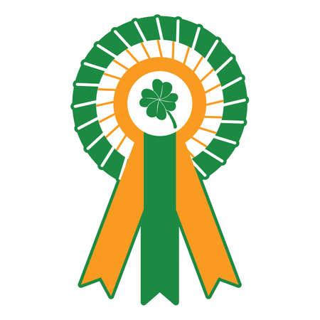st  patrick's: st patricks badge