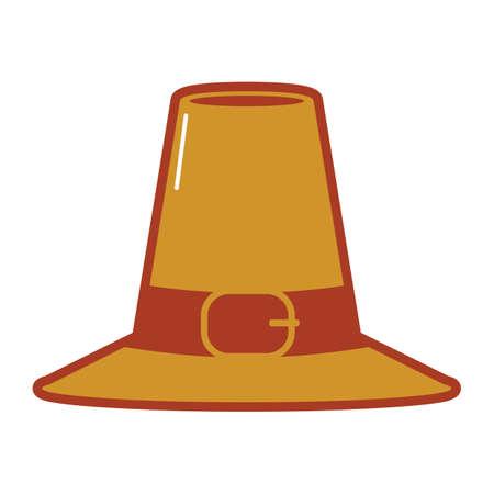 buckles: hat Illustration