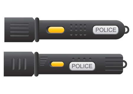torch light: police torch light