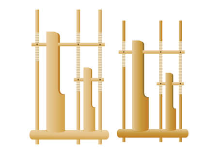 chimes: bamboo hand chimes