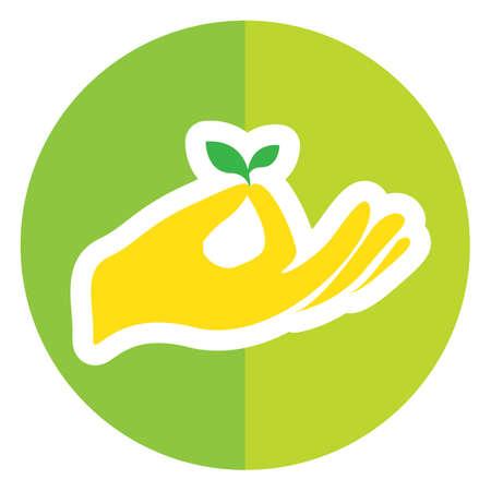 leaf: hand holding leaf
