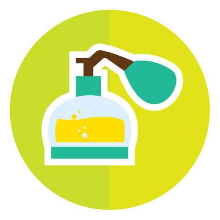 scented: spray bottle Illustration