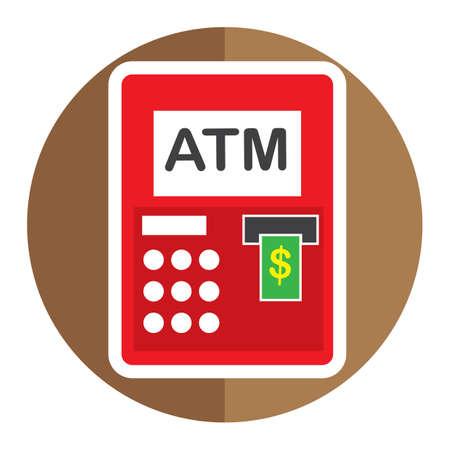 visa credit card: atm machine