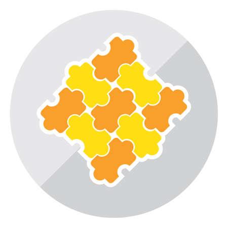 assembling: puzzle