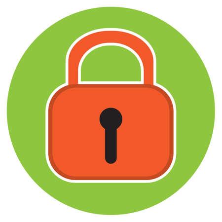 lockout: lock Illustration