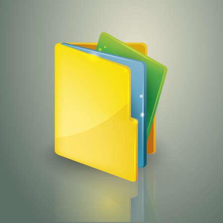 filing: folder and files