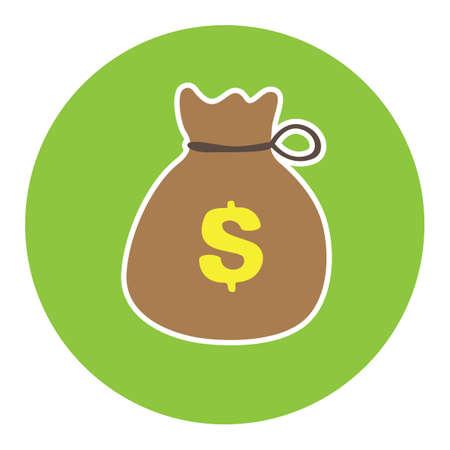 sack: money sack