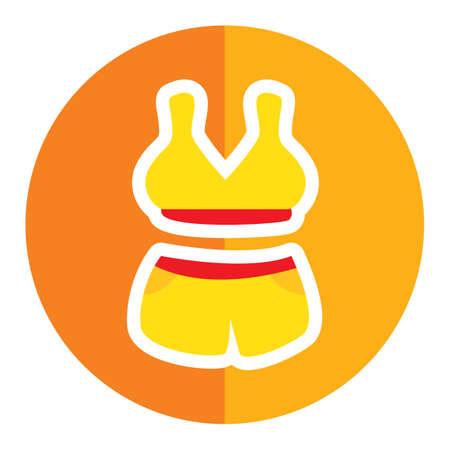 costume de bain: maillot de bain Illustration