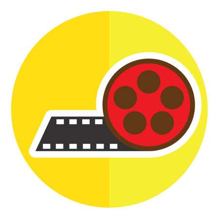 filmstrips: film reel