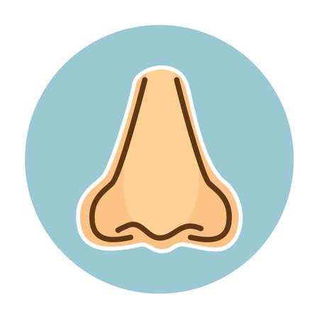 nose: nose Illustration