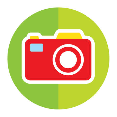 photo: photo camera Illustration